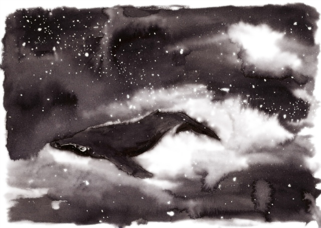 February Sky Whale