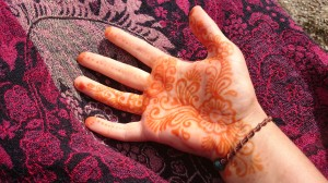 I spent quite a lot of the summer decorating anyone who kept still long enough with henna.